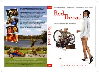 red thread dvd insert design portfolio